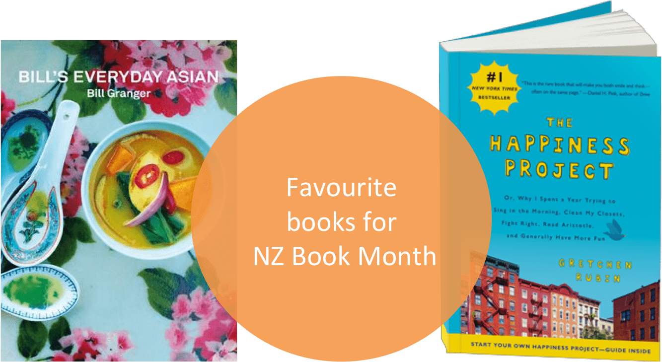 My favourite books for NZ Book Month