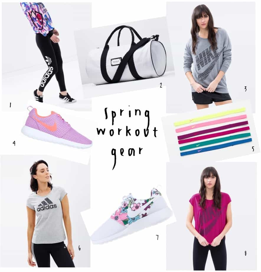 My top spring workout gear finds