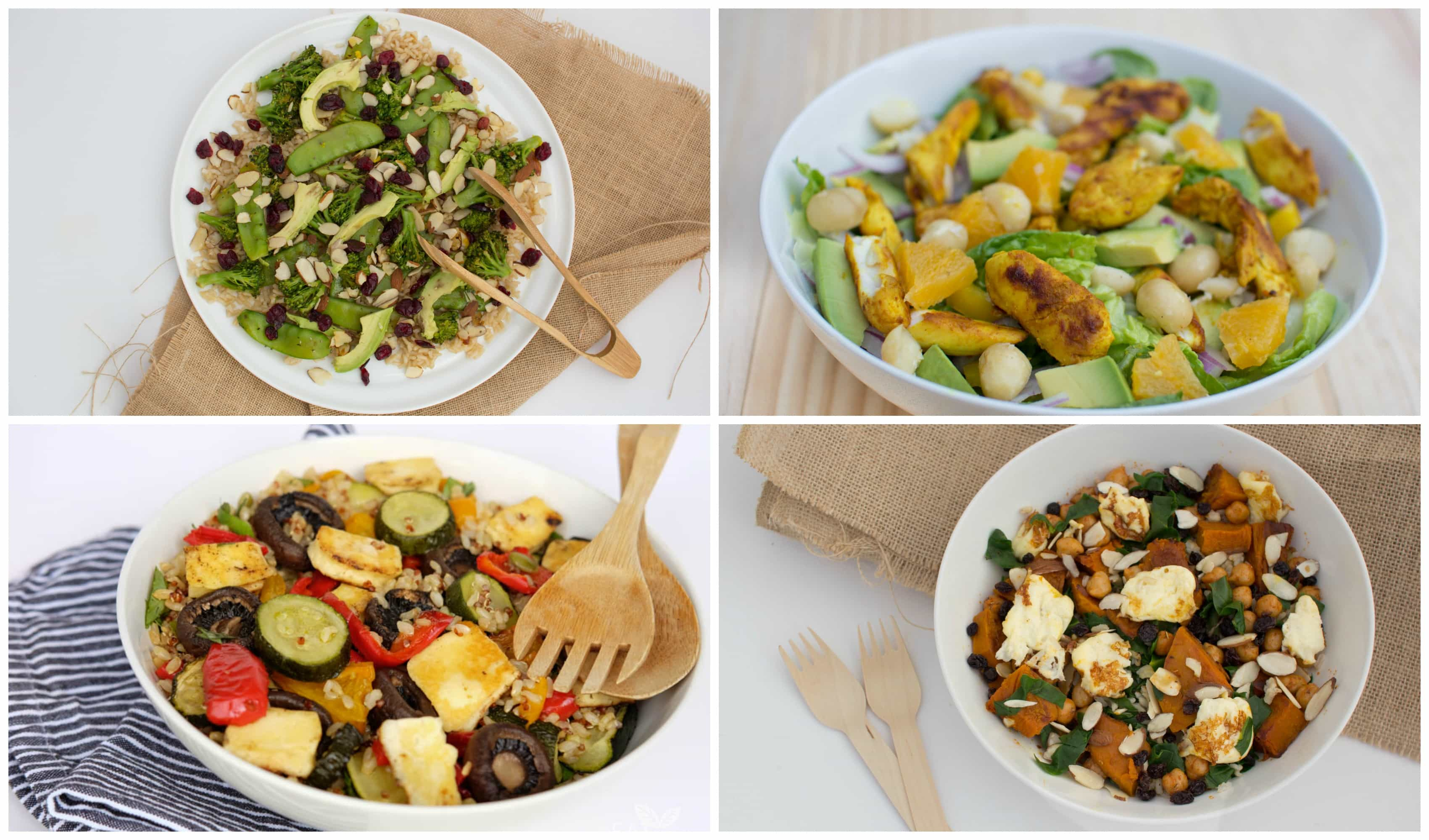 My top four nourishing, delicious summer salad ideas