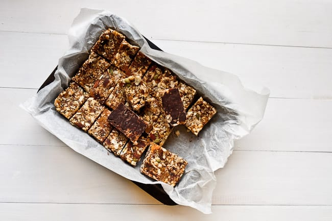 Nut and Seed Muesli Slice